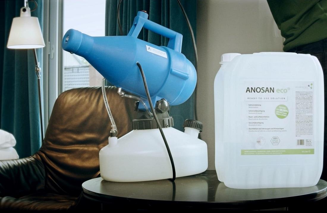Anosan ECO zur Kaltvernebelung und Luftdesinfektion